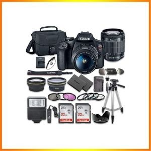 Canon Rebel EOS T7 DSLR Camera Bundle