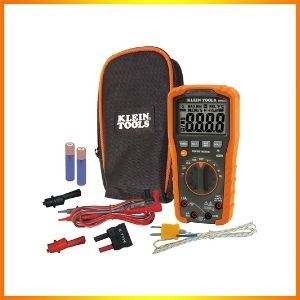 Klein Tools MM600 Digital Auto-Ranging HVAC Multimeter<br />