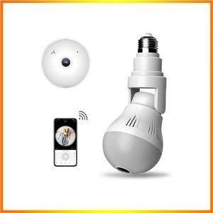 Light Bulb Camera Wireless 360 Degree Panoramic<br />