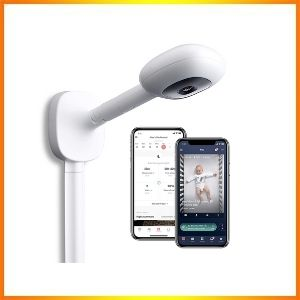 Nanit Plus - Smart Baby Monitor and Wall Mount<br />