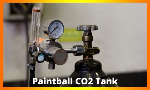 Paintball CO2 Tank