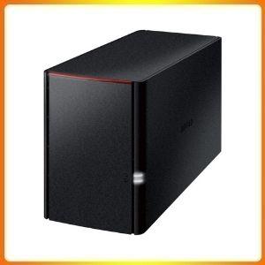 BUFFALO LinkStation 220 8TB Home Office Private Cloud Data Storage