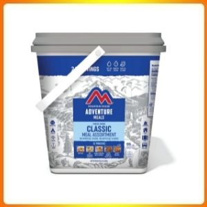 Expedition Bucket Freeze and Dried Food
