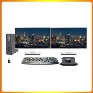 HP EliteDesk 800 Intel i7 Dual Monitor