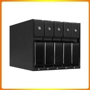 Kingwin SSHD Hard Drive Enclosure Internal 5 Hot Swap Bay