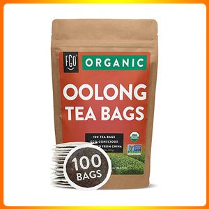 Organic Oolong Tea Bags by FGO